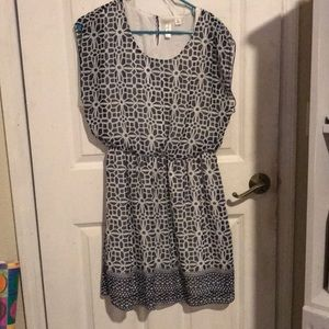 Petite large dress